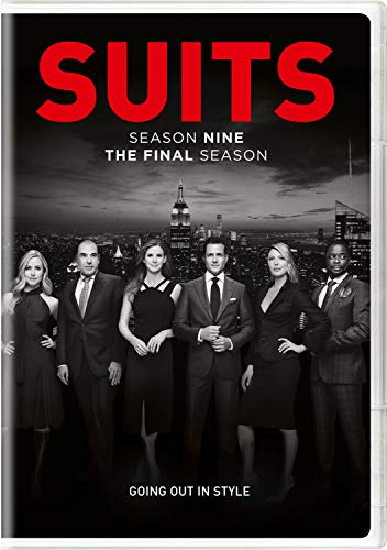 DVD : Suits: Season Nine - Final Season (3 Discos)