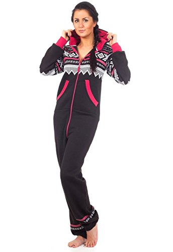 Jumpsuit Loomiloo molti modelli senza tempo da tuta Onepiece casa divisa intero mute pigiama Tuta da acquistare edardo Body design norvegese nero M/L