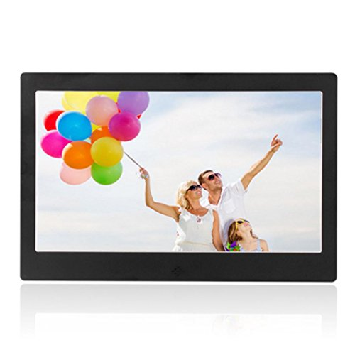 Boddenly 13 inch High-definition 1280 x 768 Ultra-thin Digital Photo Frame MP3 Video Player With 8G Memory Card(black)