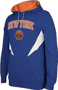 New York Knicks Adidas 2013 NBA Resonate Performance Hooded Sweatshirt by adidas