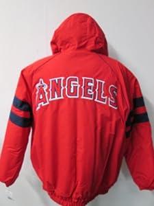 G-III Anaheim Angels Mens X-Large Full Zip 2 Stripe Winter Jacket AANA1 XL by G-III Sports