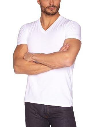 Eminence - Iconique - T-Shirt - Uni - Homme - Blanc - FR : Large (Taille fabricant : 4)