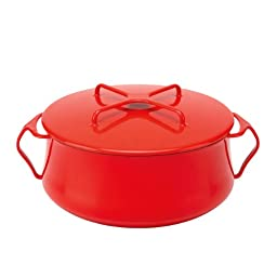 Dansk Kobenstyle Chili Red Casserole, 6-Quart
