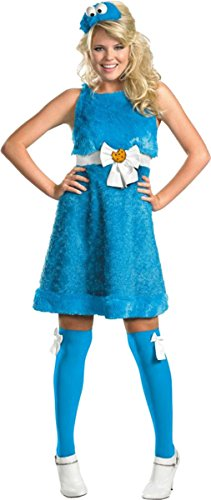 Disguise Inc Cookie Monster Sassy 8-10 (Sassy Cookie Monster Adult Costume)