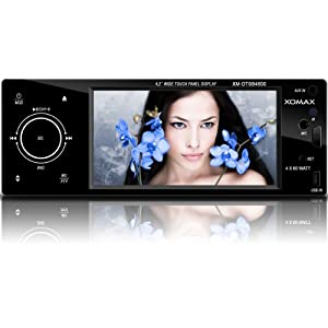auto dvd player xomax xm dtsb4800 autoradio moniceiver. Black Bedroom Furniture Sets. Home Design Ideas