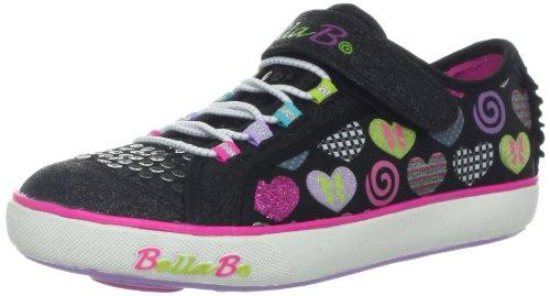 Skechers Girls Curtsies Sugarspin Black Low-Top 82042L 12 UK Child, 30 EU