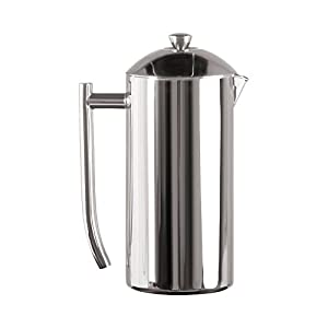 Frieling Polished 18/10 Stainless Steel French Press, 36 Ounce