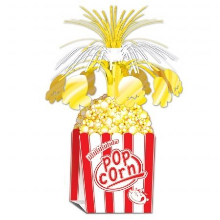 Beistle 57359 1-Pack Popcorn Centerpiece