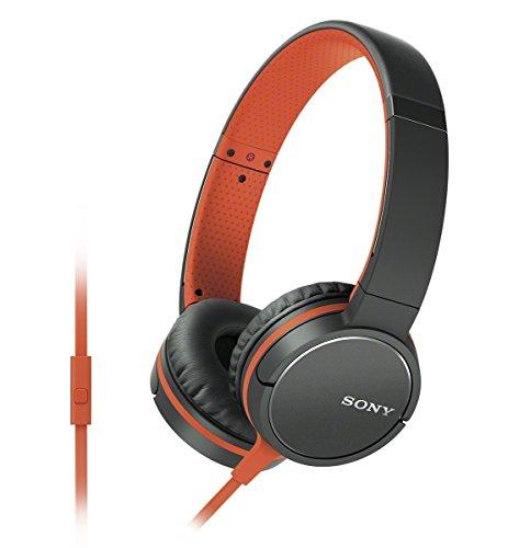 Sony MDR-ZX660AP Sound Monitoring Headphone (International Version) - Orange