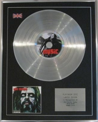 ROB ZOMBIE-CD Platinum Disc-PAST PRESENT & FUTURE