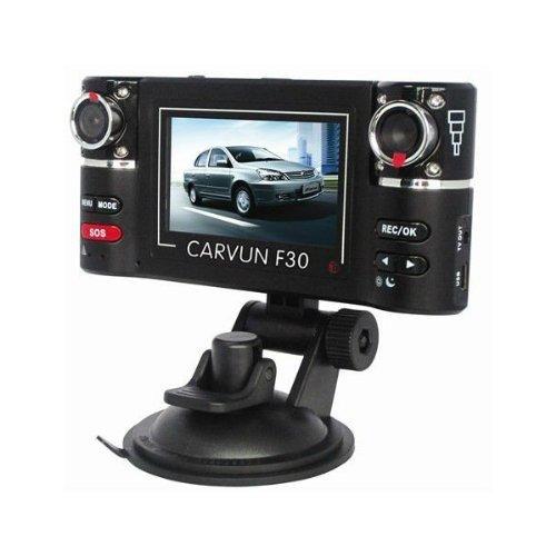 Riorand F30 Hd Dual Camera Lens Car Vehicle Dvr Dash Cam Video Recorder 8 Ir Lights Sos