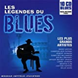 Coffret 10 CD :  Les Legendes Du Blues