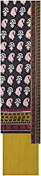 Payal Collection's Women's Cotton Unstitched Salwar (Black)
