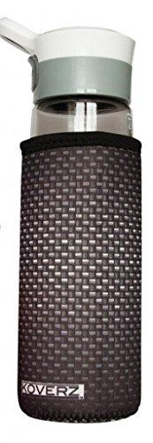 Koverz - #1 Neoprene 24-30 oz Water Bottle Insulator Cooler Coolie - Carbon Fiber (Water Cooler Water Bottle compare prices)