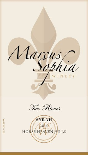 "2010 Marcus Sophia ""Two Rivers"" Syrah 750 Ml"