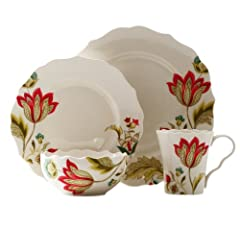 222 Fifth Bella Donna Dinnerware Set by 222 Fifth