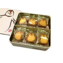 香港 奇華餅家 ペンギンクッキー ギフト用かわいい缶入り 香港マカオ土産