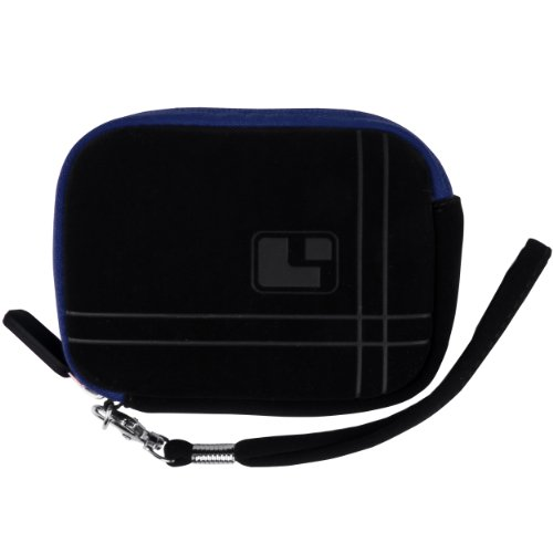 Magic Blue SumacLife Microfiber Suede Camera Case Pouch with Neoprene Bubble Padding for Samsung ST66 ST93 ST95 ST90 ST65 ST30 ST700 ST80 ST100 ST550 SL202 SL30 SL102 DV300F MV800 PL150 PL170 PL120 PL200 PL210 PL100 SH100 WB210 WB700 WB2000 AQ100 WP10 TL3