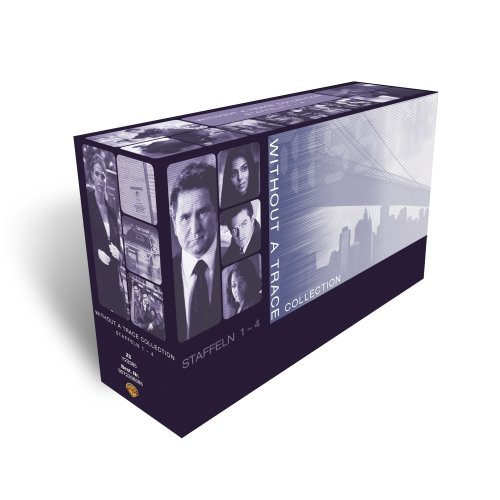 Without a Trace Collection: Staffel 1 bis 4 (16 DVDs)