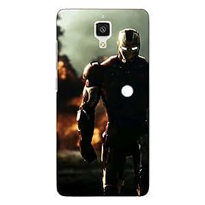 Jugaaduu Superheroes Ironman Back Cover Case For Xiaomi Mi4