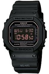 Casio Men's DW5600MS-1CR G-Force Military Concept Black Digital Watch