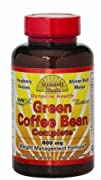 Dynamic Health Green Coffee Bean capsules  60 Vcaps Pack of 2