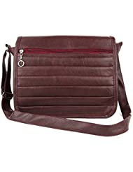 IGYPSY SMOKE Brown O3 Sling Bag Handbags Tote Sling Synthetic Leather Cross Body Bags For Ladies Women Girls Gift...
