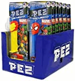 Marvel Superheroes Pez Dispensers(Pack of 12)