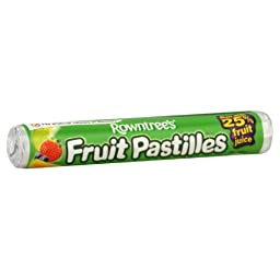 Rowntree\'s Fruit Pastilles Roll, 1.8-Ounce (Pack of 12)