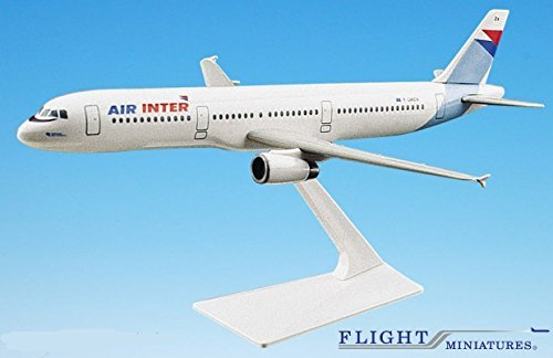 Air Inter ( French Domestic Airline ) A321-200 Airplane Miniature Model Plastic Snap-Fit 1:200 Part# AAB-32100H-002 offer wings xx2456 special jc portugal airlines cs tjg 1 200 a321 commercial jetliners plane model hobby
