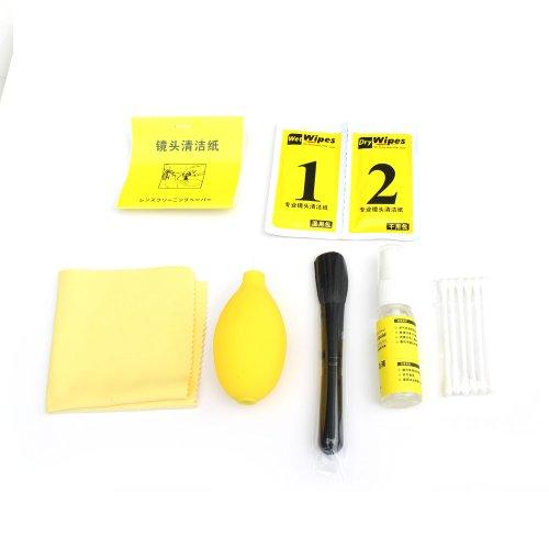 Storm Mart 7-In-1 Cleaning Kit Set For Nikon D3,D90,D800,D7100,D7000,D5100,D5200,D3100,D3200,Canon 70D,50D,60D,7D,5D,6D,550D,600D,650D,700D,1100D,Sx500,Sx50,G15 G16,Olympus E3,E5,E30,E620,E-P5,E-P3,E-Pl5,Xz-2,Pentax ,K-R,K-X,K7,K5,Panasoic Lumix Dmc-Fz72,