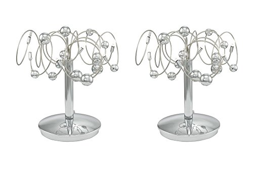 2 impostare tavolo luci notte palle decorative
