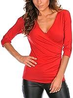 MADEMOISELLE LOLA Top Annabelle (Rojo)