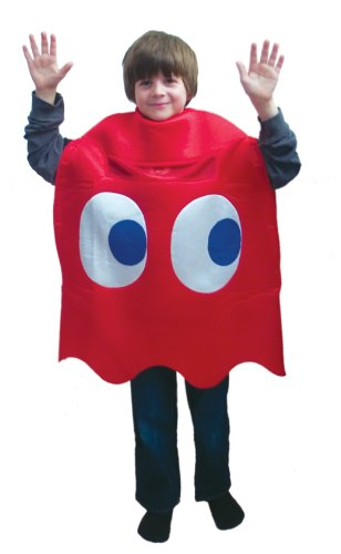 Pac-Man Blinky Deluxe Kids Costume