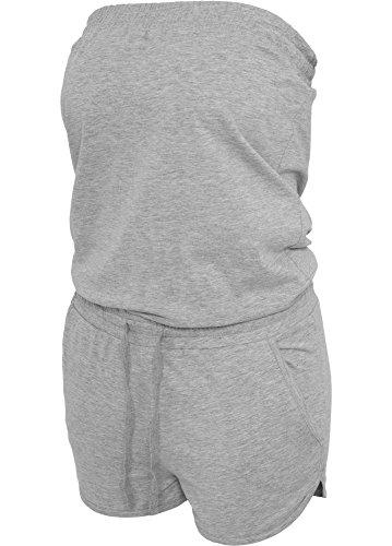 Urban Classics -  Pantaloni sportivi  - relaxed - Donna grigio S