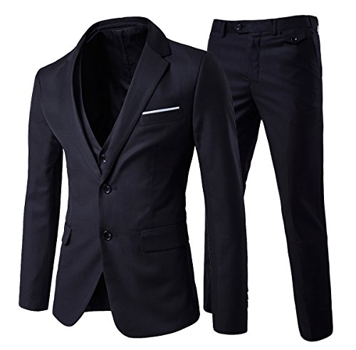 hombre-modern-fit-3-piezas-suit-blazer-chaqueta-tux-chaleco-y-pantalones-negro-negro-m