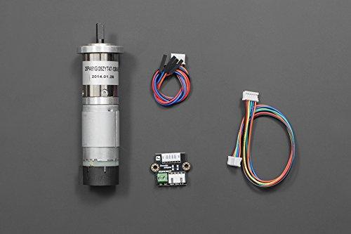 dfrobot-12v-low-noise-dc-motor-146rpm-w-encoder-diy-maker-open-source-booole