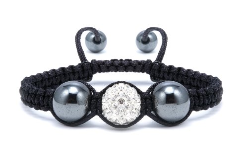 Authentic Diamond Color Crystals Shamballa Adjustable