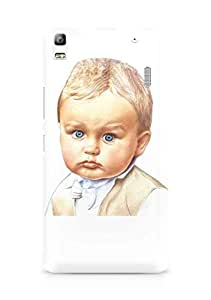 Amez designer printed 3d premium high quality back case cover for Lenovo K3 Note (Cute Baby)