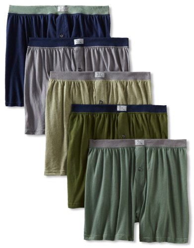 fruit-of-the-loom-mens-5-pack-soft-stretch-knit-boxer-colors-may-vary-assorted-medium