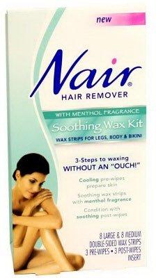 Nair Nair Soothing Wax Kit: 3 units.