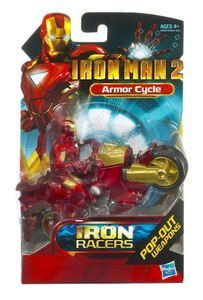 Iron Man 2 Iron Racers - Armor Cycle