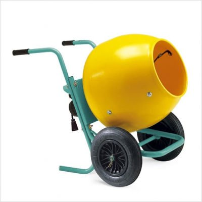 Wheelman II – Portable Gas Concrete Mixer