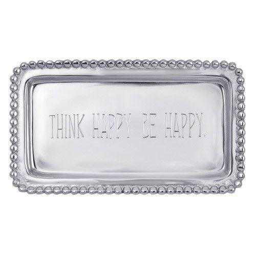 "Mariposa ""Think Happy, Be Happy"" Statement Tray"