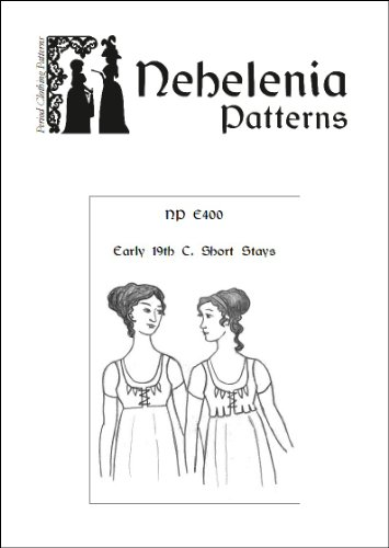 Early 19th C Short Stays Pattern