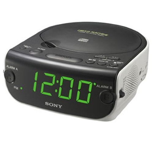 Sony Dream Machine CD Clock Radio ICF-CD814