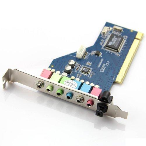 7.1Ch Channel Surround Audio Pci Sound Card 3D Technology Via Chipset Vt1723 32-Bit Windows Win 7 64 / Xp