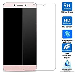 Febelo Branded Pro HD 2.5D Crystal Clear 9H Ultra Thin Curve Edge Bubble Free Tempered Glass Screen Protector For LeEco Le 2 / Letv 2 / Letv Le 2