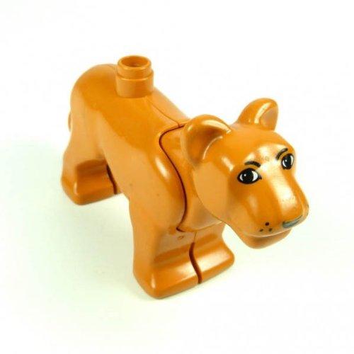LEGO Duplo – 1 Löwe Löwin Tier Zoo Zirkus