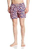Hackett London Short de Baño (Coral)